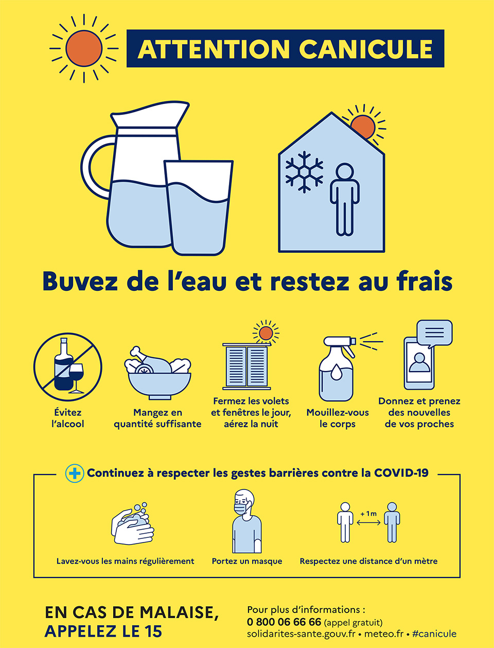 Info Plan Canicule