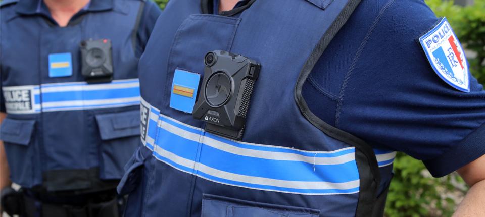 Cameras-piéton pour la Police Municipale d'Illkirch-Graffenstaden