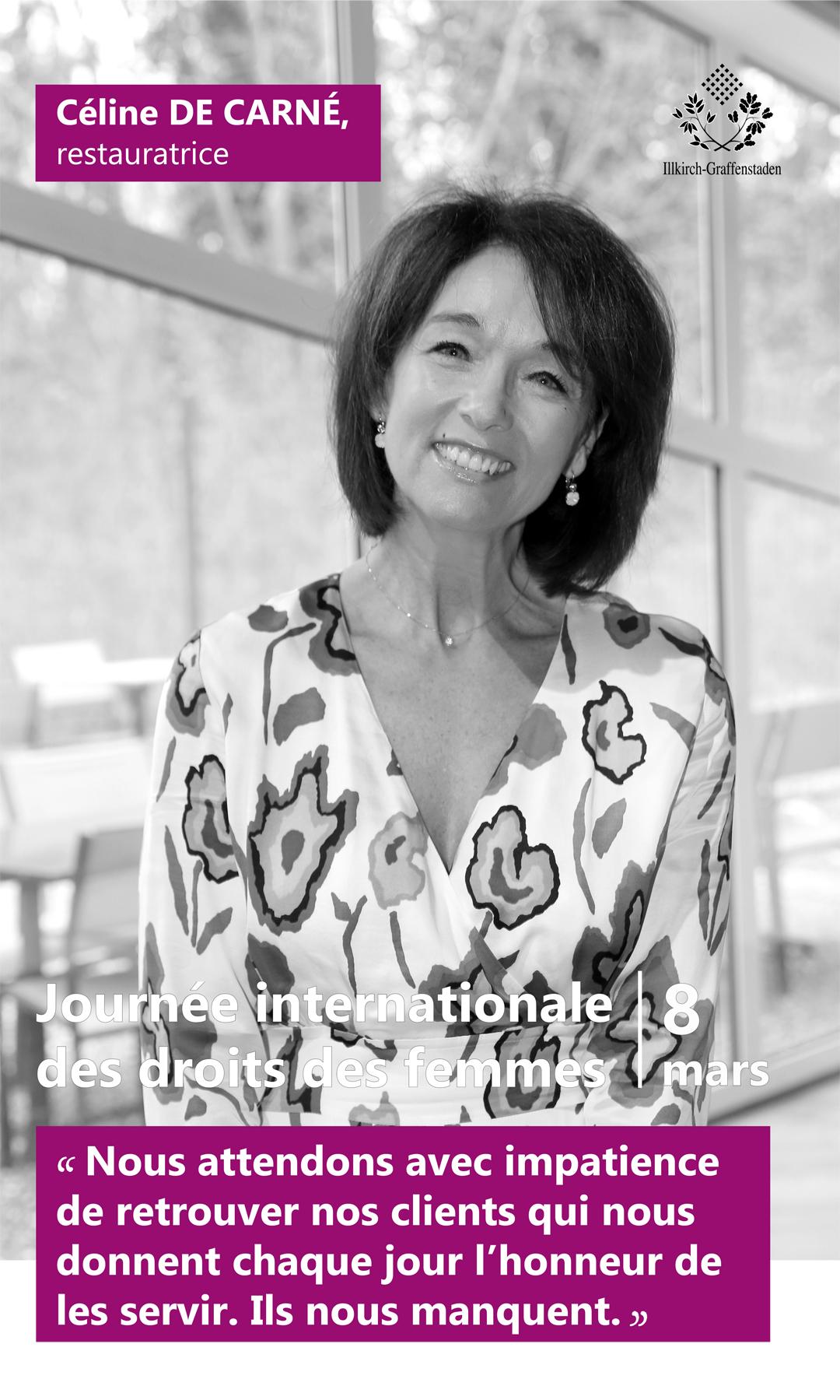 Céline de Carné - Journée internationale des droits des femmes