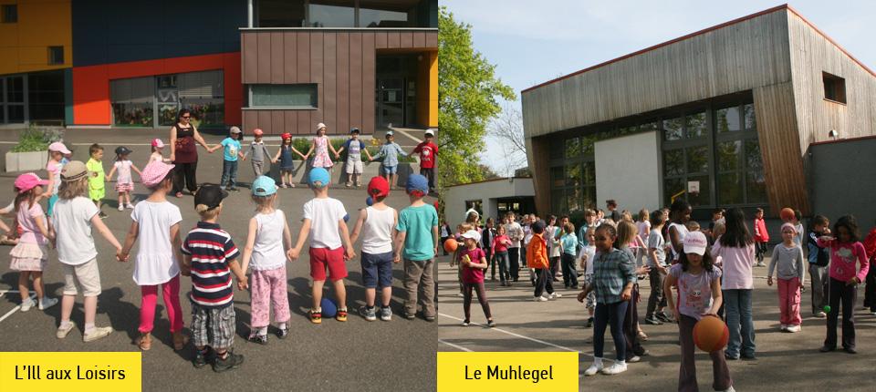 Centres de loisirs l'Ill aux Loisirs et le Muhlegel à Illkirch-Graffenstaden