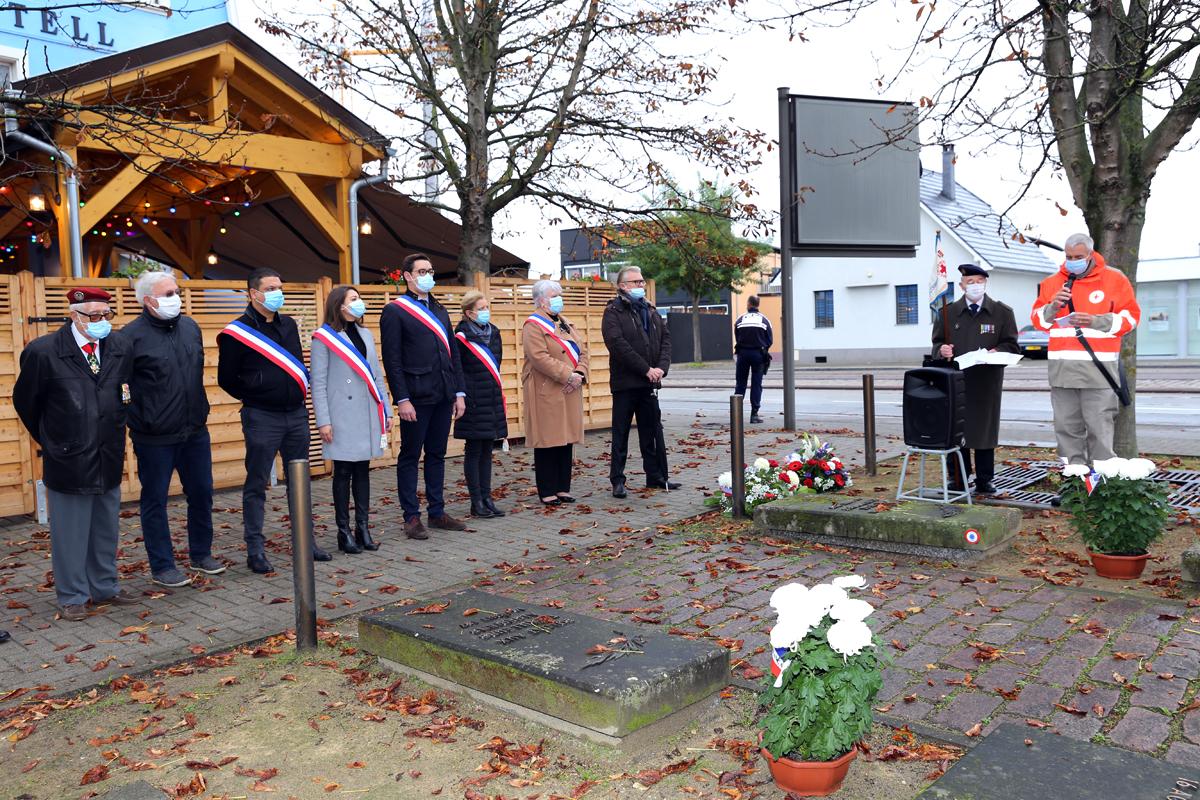 Cérémonie commémorative du 1er novembre