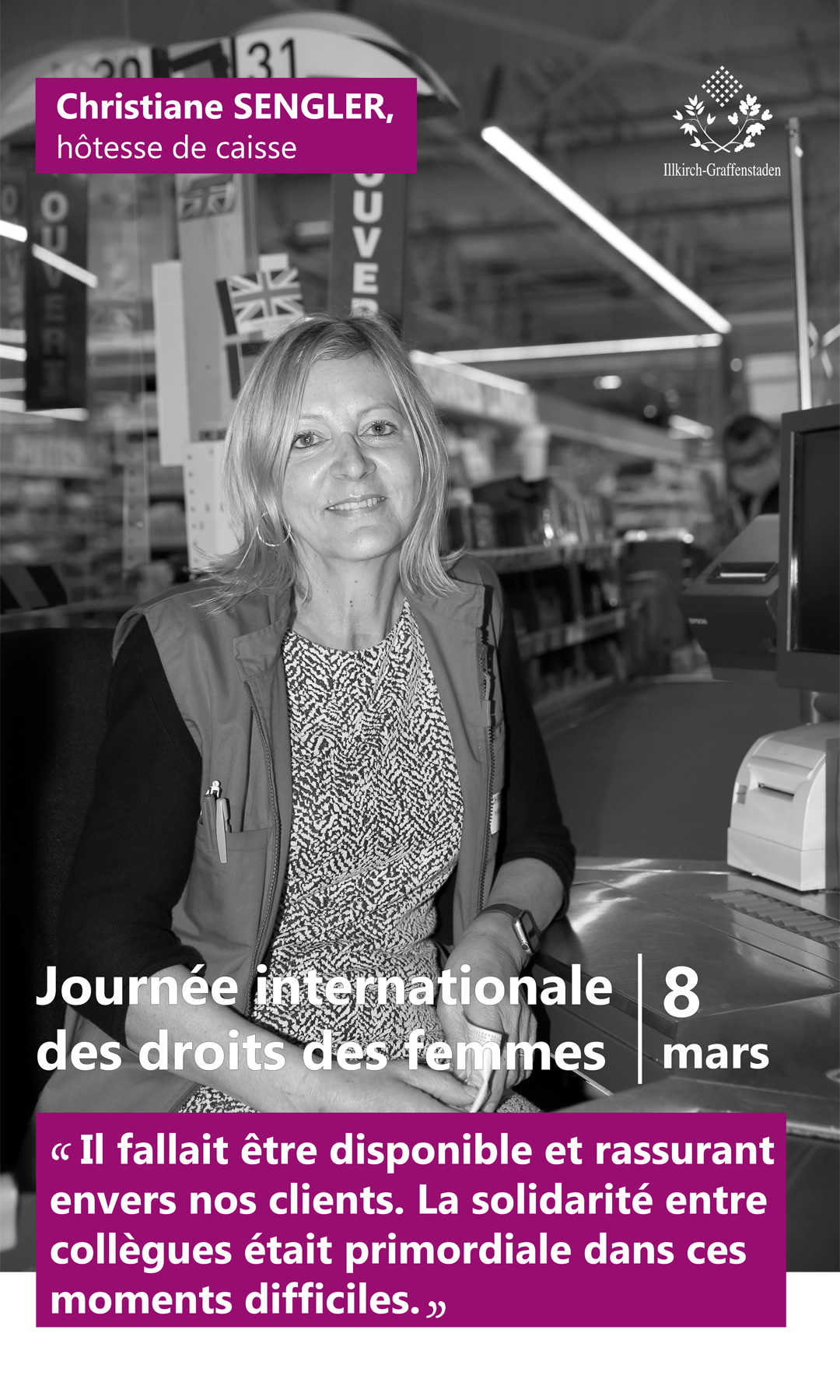 Christiane Sengler - Journée internationale des droits des femmes