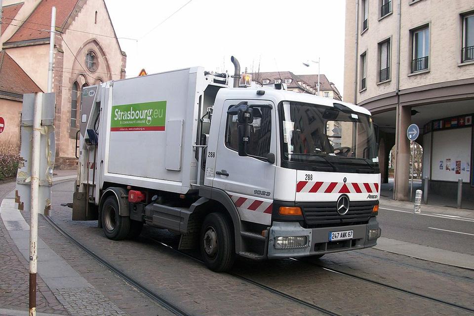 Collecte des déchets à Illkirch-Graffenstaden