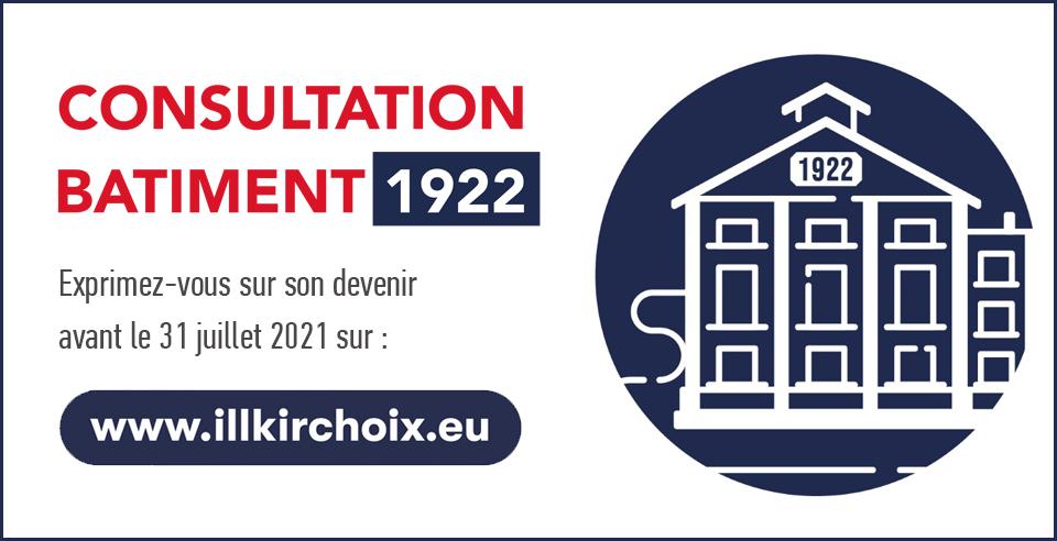 Consultation Bâtiment 1922 - Démocratie Active