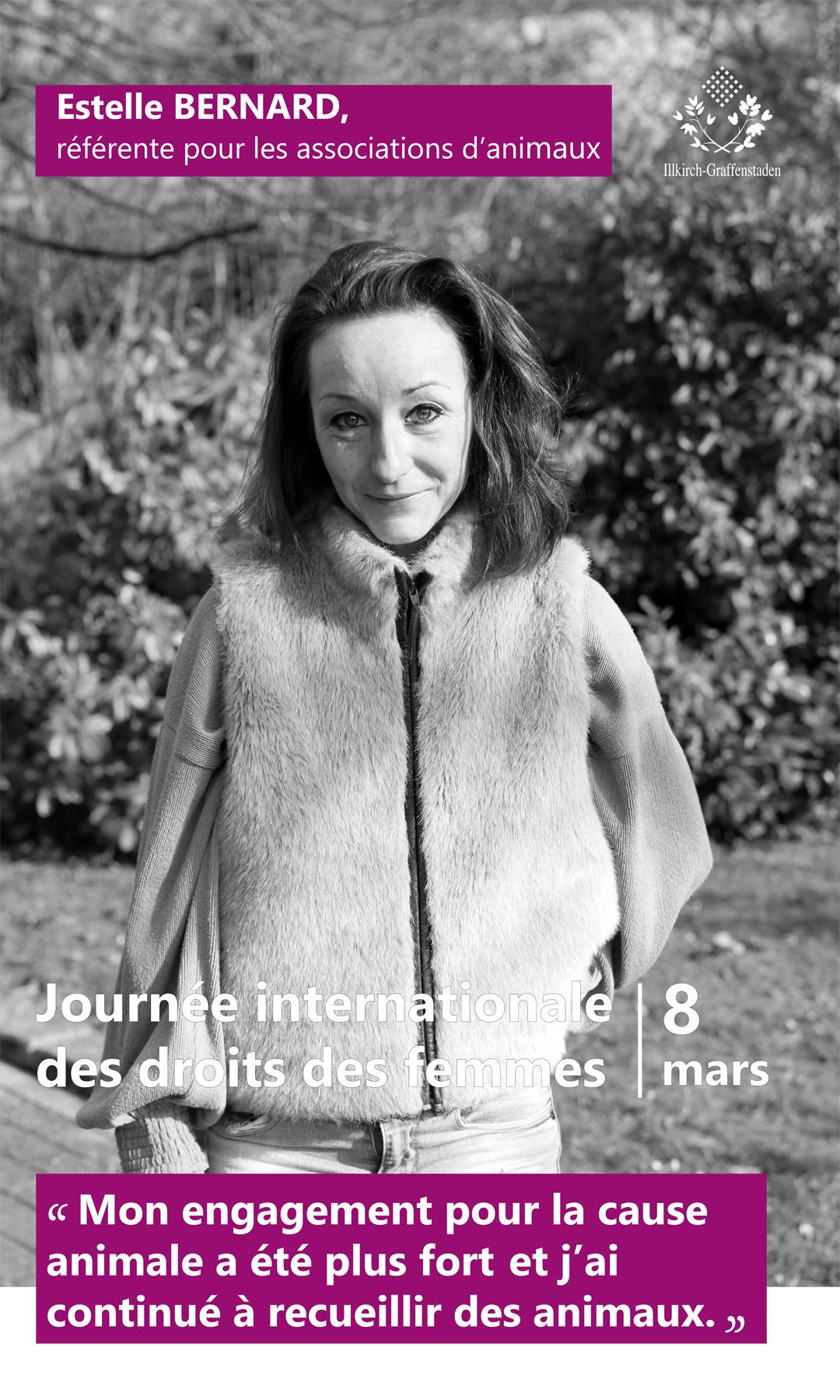 Estelle Bernard - Journée internationale des droits des femmes