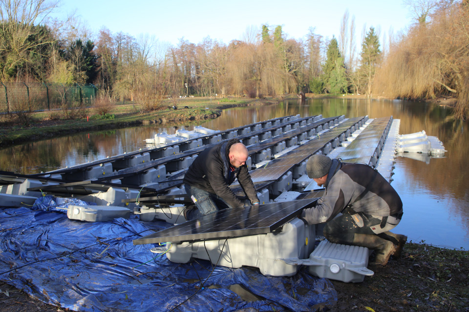 Expérimentation d'un parc solaire au Girlenhirsch à Illkirch-Graffenstaden