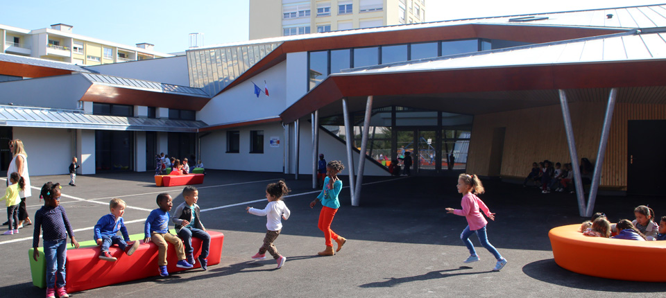 Extension école maternelle Lixenbuhl à Illkirch