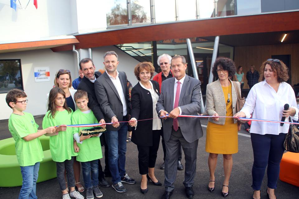Inauguration de l'école maternelle Lixenbuhl le 9 octobre 2018