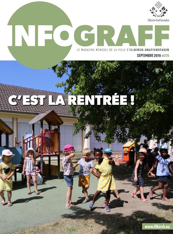 Infograff n°275 Septembre 2019 - Ville d'Illkirch-Graffenstaden