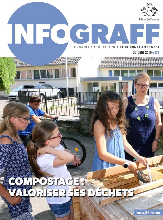 Infograff n°276 Octobre 2019 - Ville d'Illkirch-Graffenstaden
