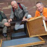 Installation du nichoir pour faucon pèlerin en septembre 2015
