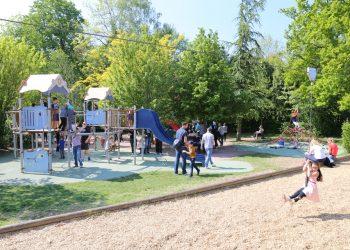 Inauguration de l'Aire de jeux Friedel