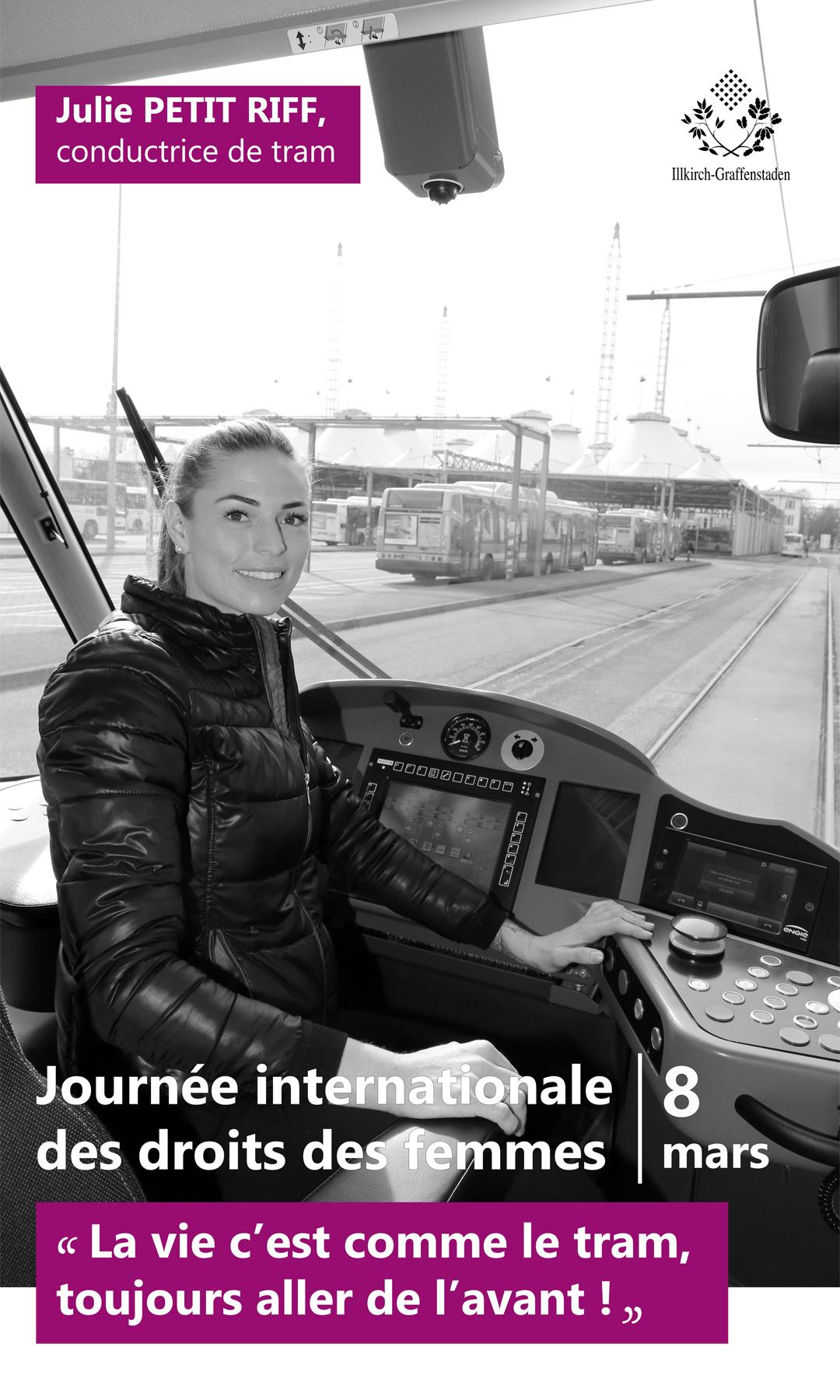 Julie Petit Riff - Journée internationale des droits des femmes