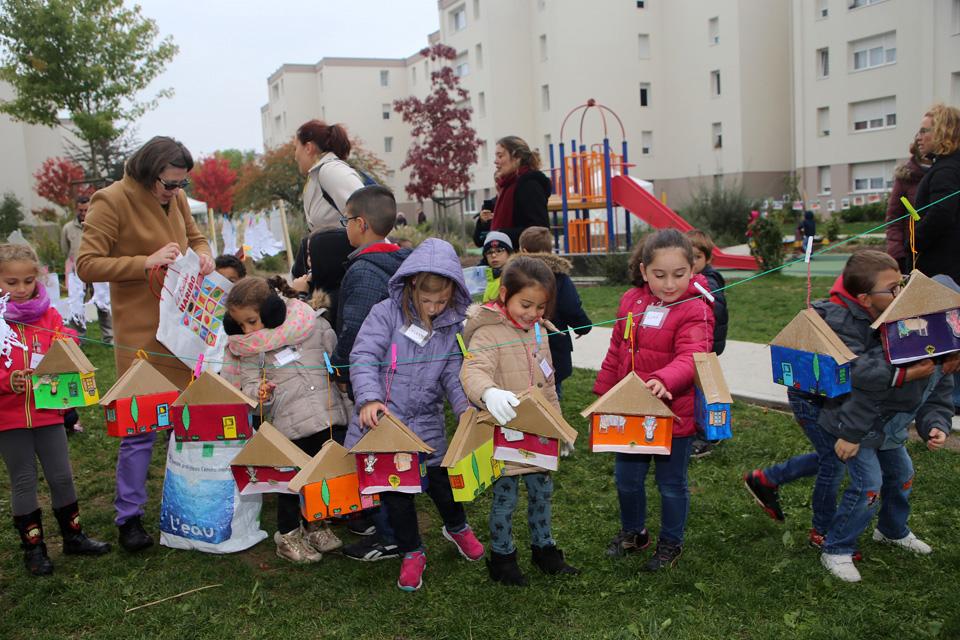 La Grande Lessive à Illkirch-Graffenstaden