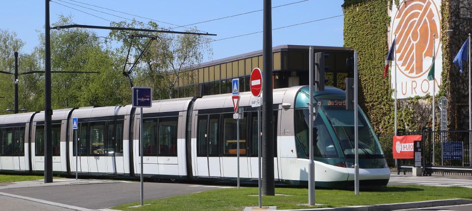 Inauguration du tram à Illkirch-Graffenstaden - 30 avril 2016