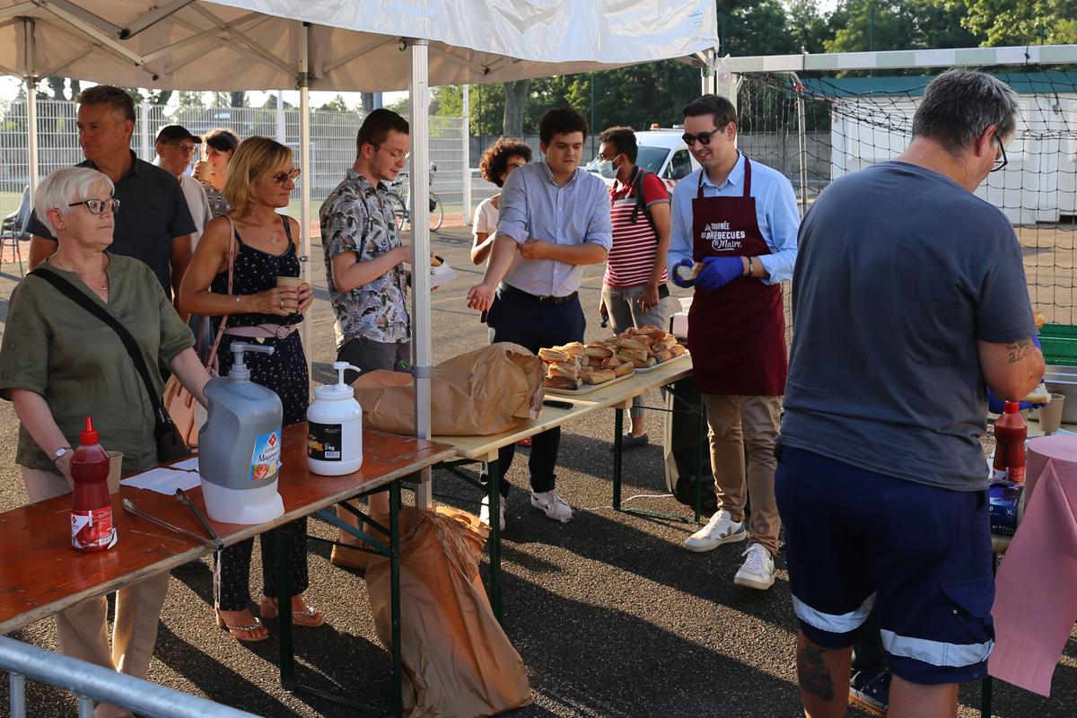 Les Barbecues du Maire 2021 à Illkirch-Graffenstaden