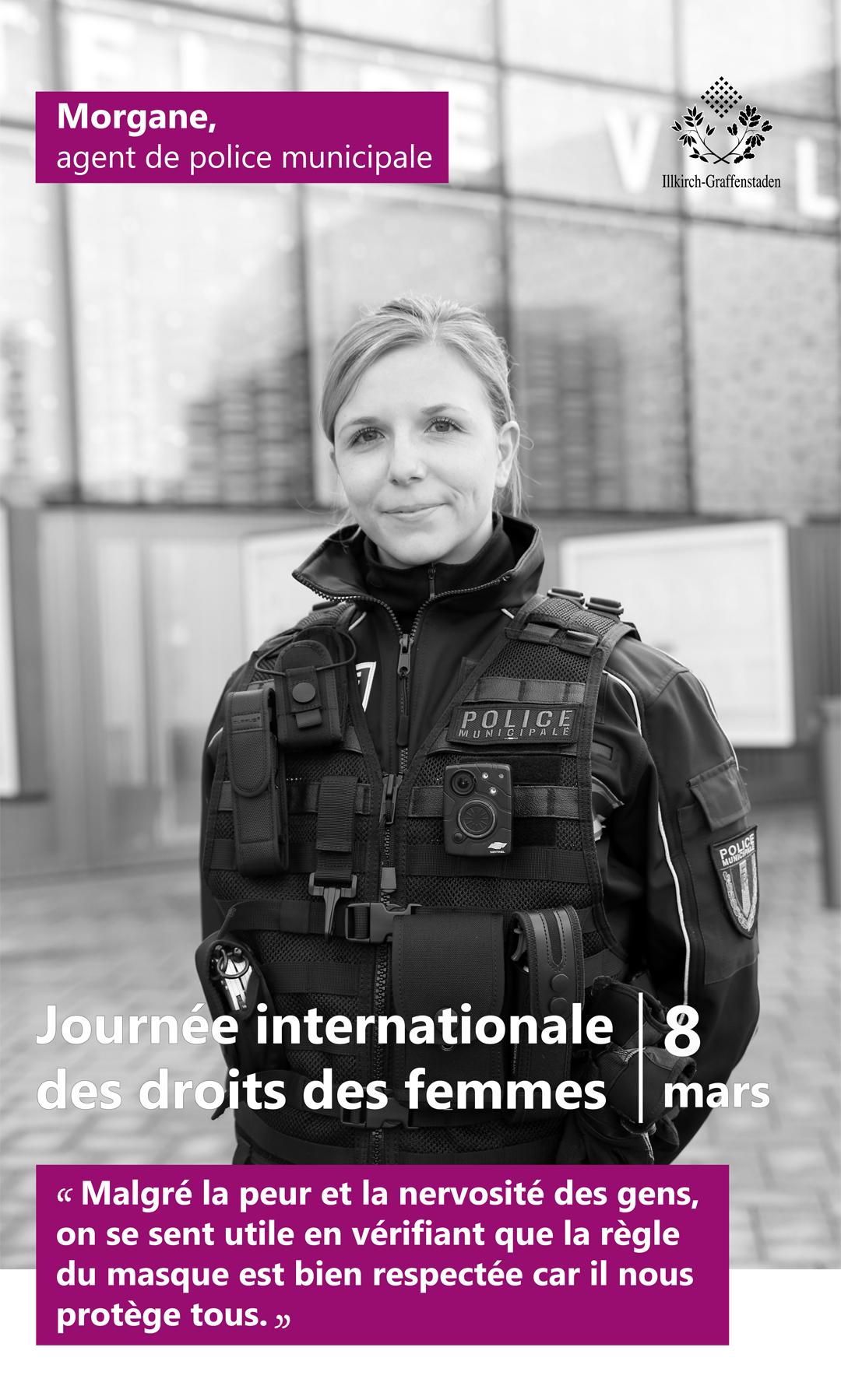 Morgane - Journée internationale des droits des femmes