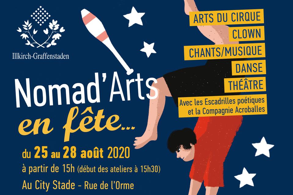 Nomad'Arts en fête à Illkirch-Graffenstaden