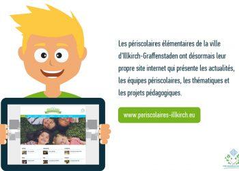 Nouveau site web des périscolaires élémentaires d'Illkirch-Graffenstaden