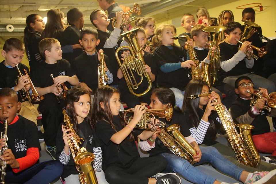 Orchestre à l'école Libermann à Illkirch-Graffenstaden