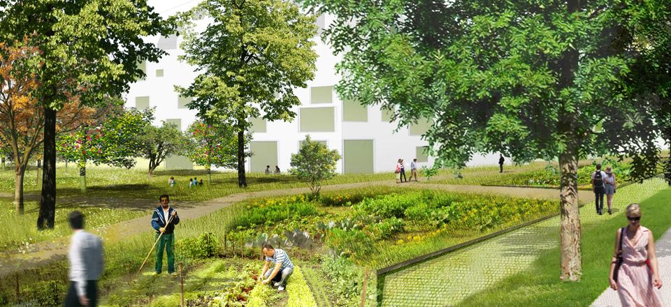 Projet Les Prairies du Canal à Illkirch-Graffenstaden