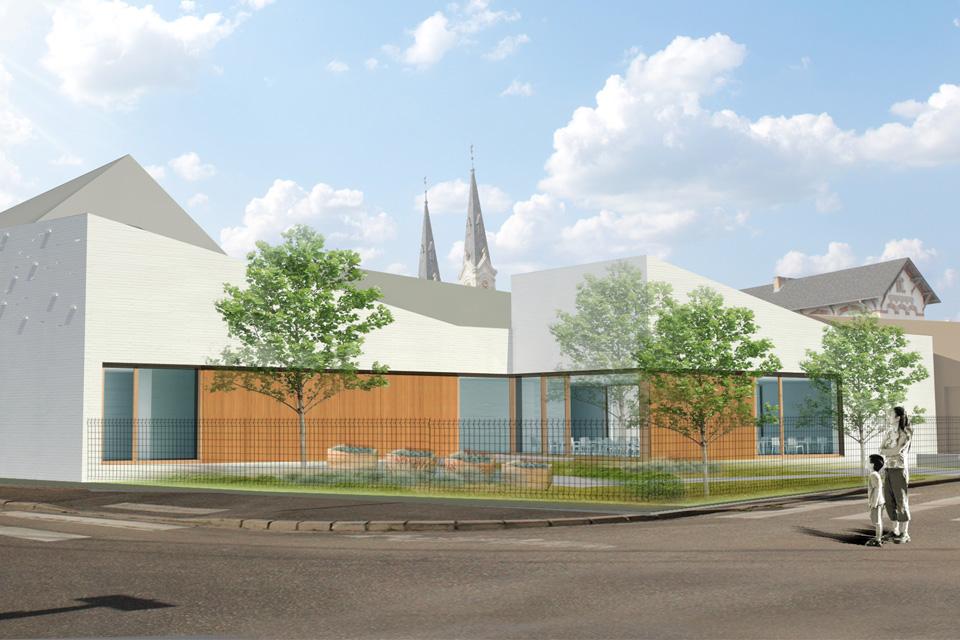 Projet Restauration Scolaire du Groupes Scolaire Centre à Illkirch-Graffenstaden