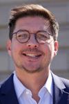 Serge Scheuer, maire-adjoint aux finances, à l'administration générale et au numérique