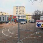 Travaux à l'école Maternelle à la maternelle Lixenbuhl à Illkirch-Graffenstaden