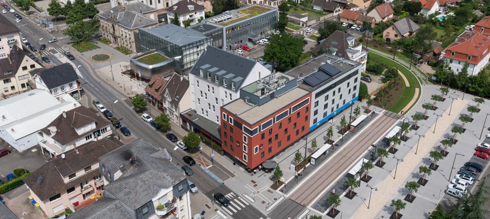 Urbanisme à Illkirch-Graffenstaden