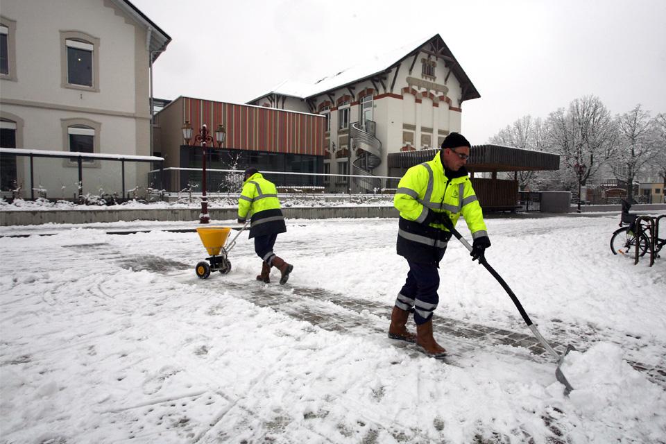 Viabilite hivernale à Illkirch-Graffenstaden