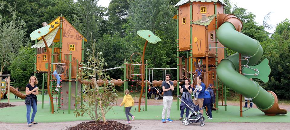 Inauguration de la nouvelle Aire de jeux Friedel à Illkirch-Graffenstaden
