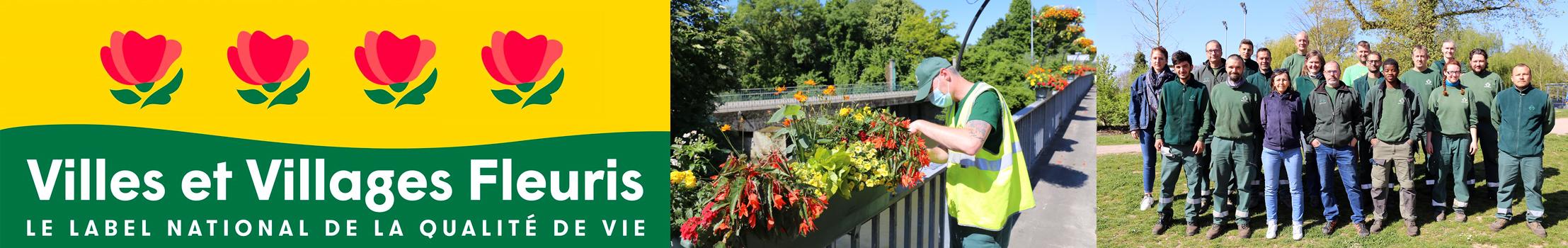 4 ème fleur à Illkirch-Graffenstaden   Villes et Villages Fleuris de France