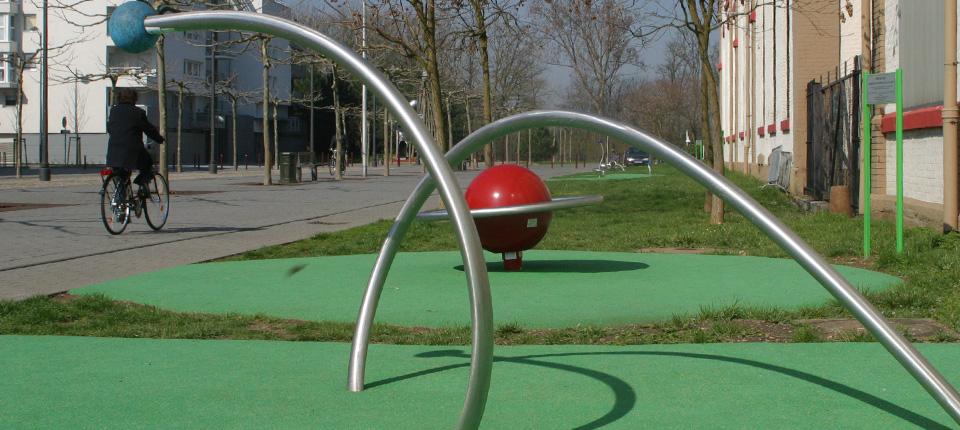 Aires de jeux pour handicapés à Illkirch-Graffenstaden