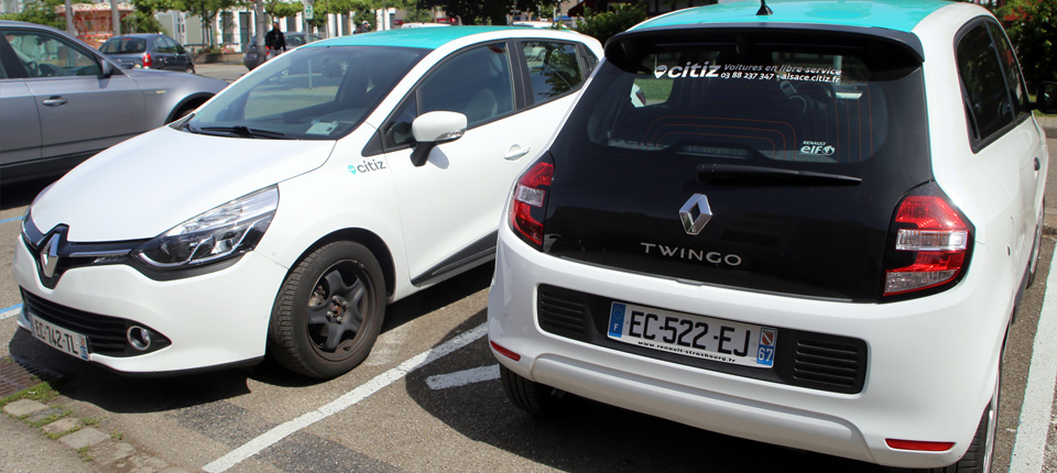 Citiz, des voitures en libre service à Illkirch-Graffenstaden