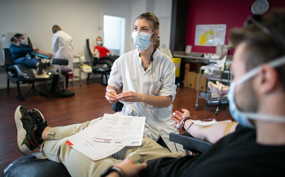 Collecte de sang à Illkirch