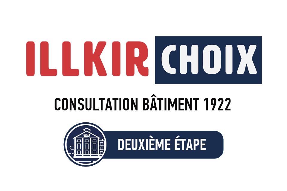 Consultation Bâtiment 1922 à Illkirch : Deuxieme étape