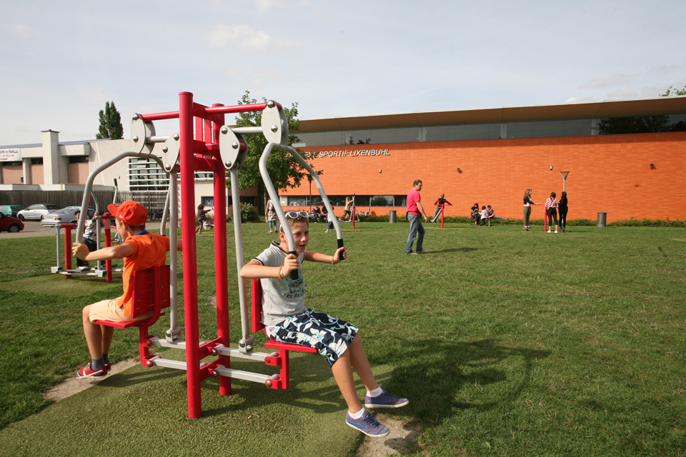 Fitness-Parc du Lixenbuhl à Illkirch-Graffenstaden