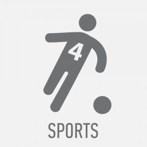 Accéder à la rubrique Sports