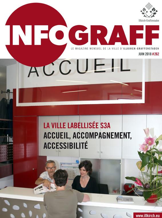 Infograff n°262 juin 2018 à Illkirch-Graffenstaden