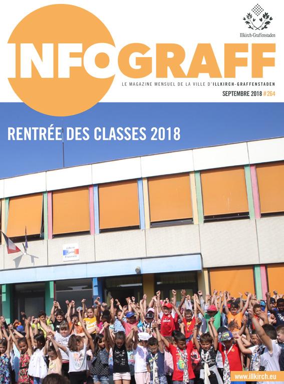 Infograff 264 septembre 2018 Illkirch-Graffenstaden