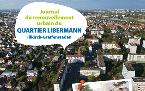 Journal de renouvellement urbain du Quartier Libermann à Illkirch-Graffenstaden