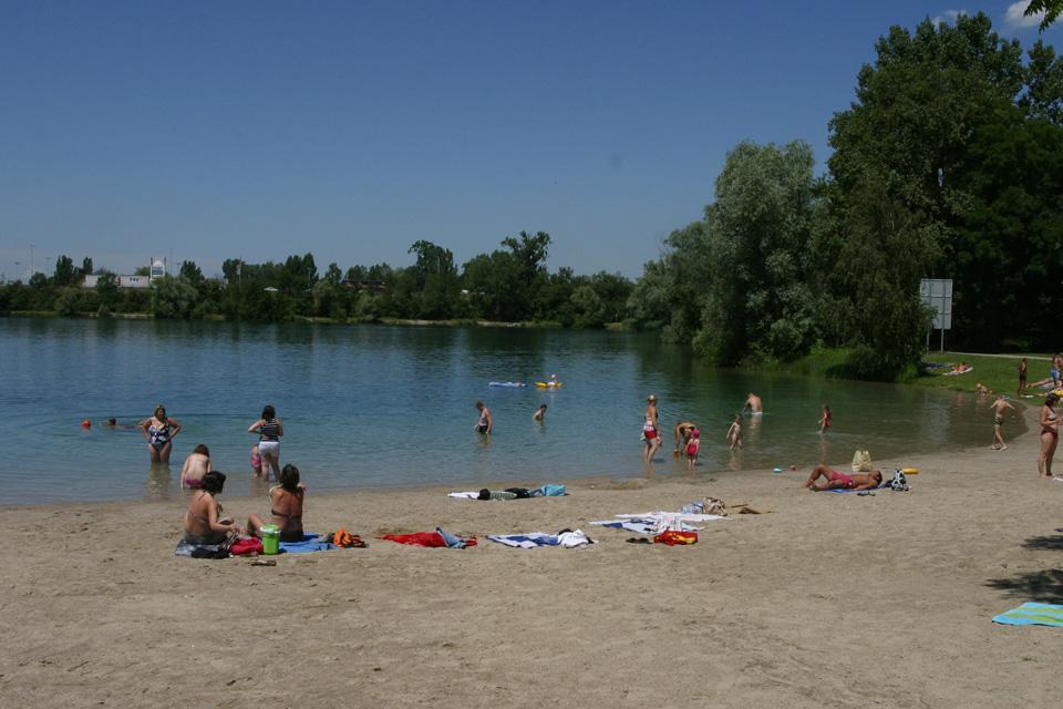 Le Lac Achard à Illkirch-Graffenstaden
