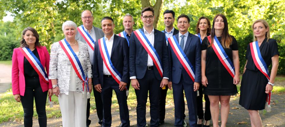 Les élus du Conseil Municipal d'illkirch-Graffenstaden