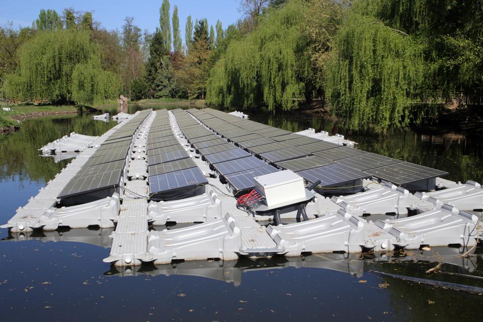 Parc solaire Lacustre à Illkirch-Graffenstaden