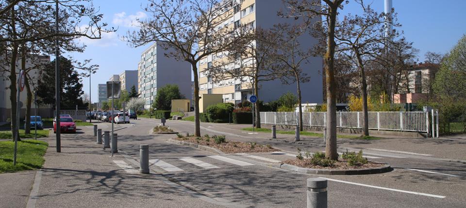 Renouvellement urbain au Quartier Libermann à Illkirch-Graffenstaden