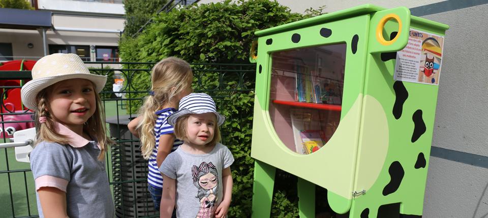 Trois boîtes à livres à disposition à Illkirch-Graffenstaden